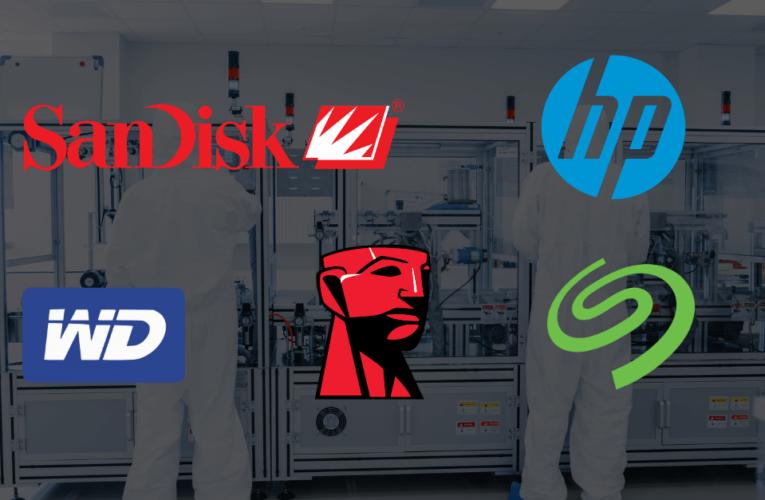 Fabricantes de discos duros: ¿Quién fabrica discos duros?