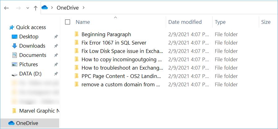 Disponibilidad de escritorio de OneDrive