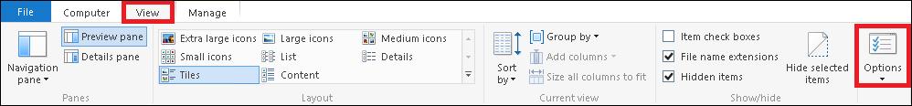 Abra el Explorador de Windows