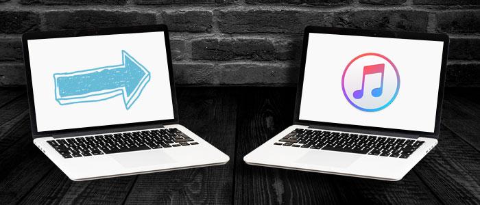 Transferencia de una copia de seguridad de iTunes a una computadora nueva