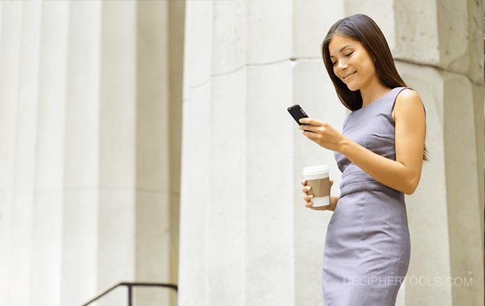 Abogados que exportan mensajes de texto de clientes