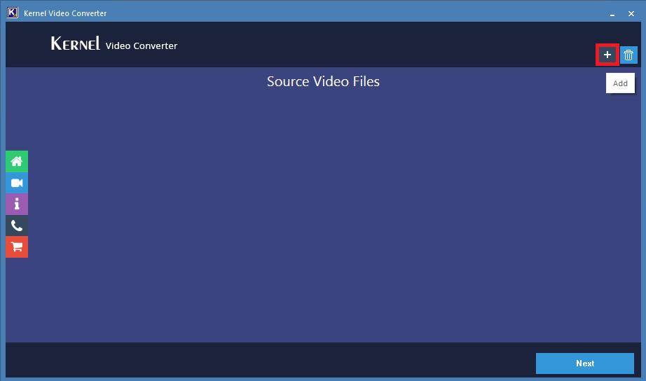 agregue el archivo de video MP4