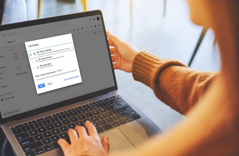 ¿Cómo compartir archivos de Google Drive públicamente?