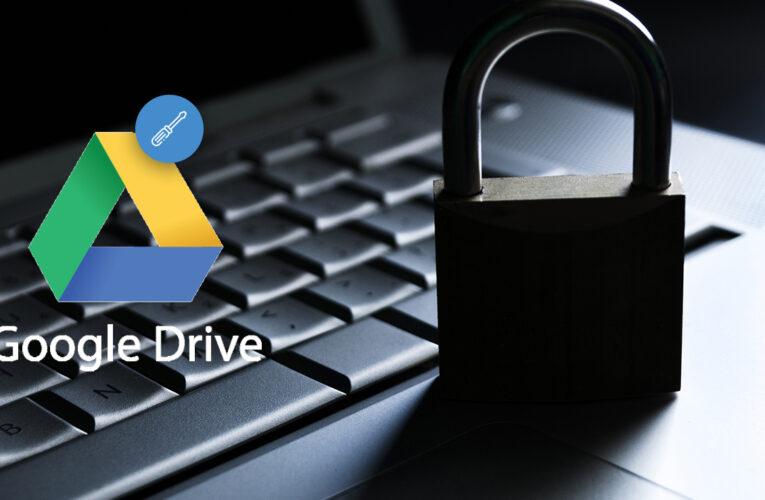 Solución: acceso denegado a Google Drive