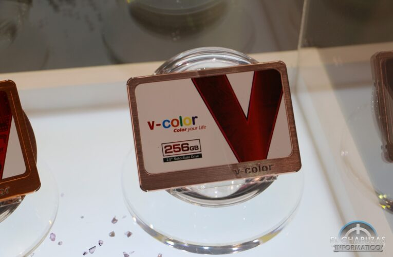 # Computex-V-Color VSS100, SSD de Rainbow