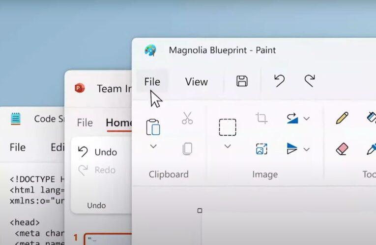 Microsoft Paint se actualiza y se le da un tema oscuro en Windows 11